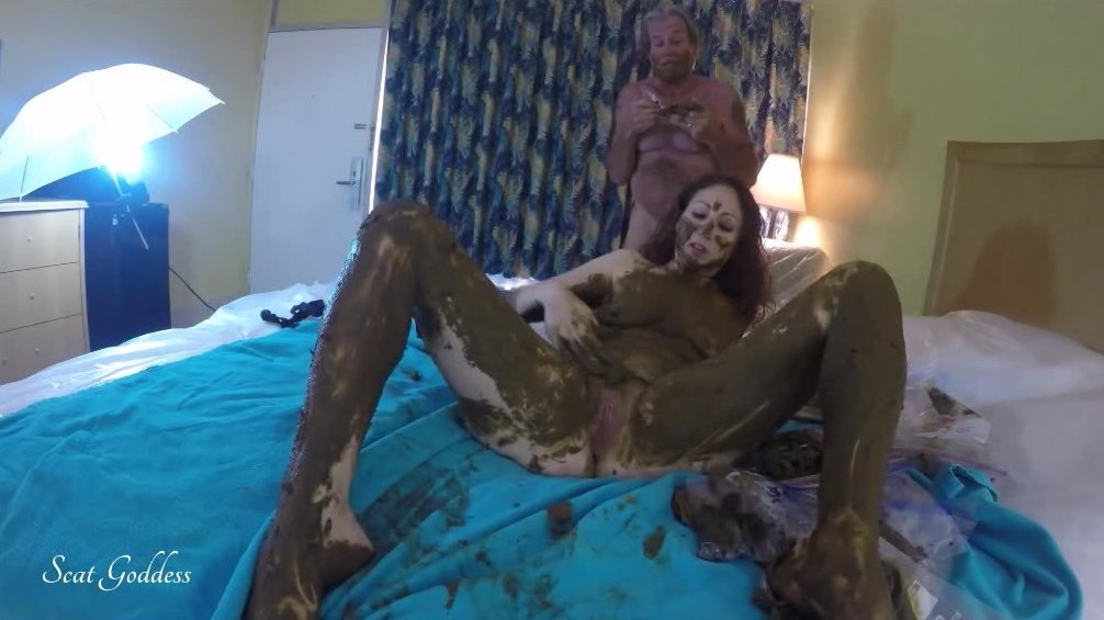 Fucking hot copro scat femdom video hard for